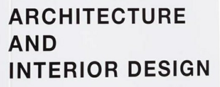 Architecture and Designers